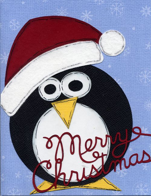 Peguin christmas card